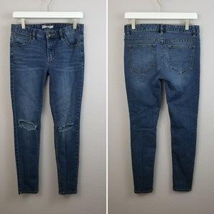 Free People Skinny Distressed Stretch Jean's 27
